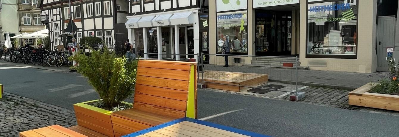 Exkursion: Umgestaltung der Fußgängerzone Lange Straße - ein Stadtexperiment